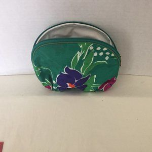 #415 Christian Dior small floral cosmetic bag